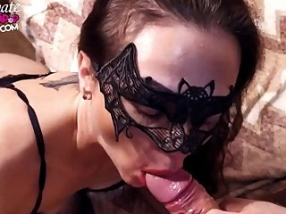 Hotwife Fingering Pussy and Deep Sucking Cock Best Friend