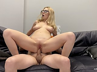 Milf Teacher at the Anal Porn Casting. FULL. 4K.